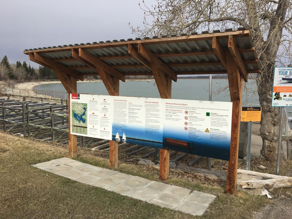 New Bow & Elbow River Access Signage Taking Shape